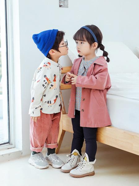 蒂萨纳D`sana童装品牌2020秋翻领粉色衬衫长袖