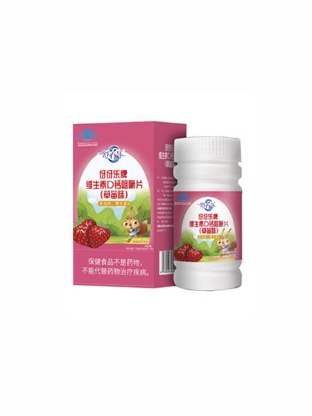 舒养乐婴儿食品舒养乐伢伢乐牌维生素D钙咀嚼片(草莓味)
