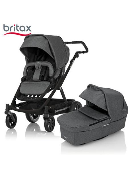 宝得适婴童用品Britax宝得适自在旅途Go Next婴儿推车双向高景观四轮推车童车