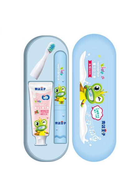 青蛙王子婴童用品2020春夏青蛙王子儿童电动牙刷3-6-12岁宝宝超软毛防水卡通非充电式牙刷