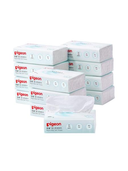 贝亲 - pigeon婴童用品新生儿保湿纸巾婴儿专用超柔润100抽*12包
