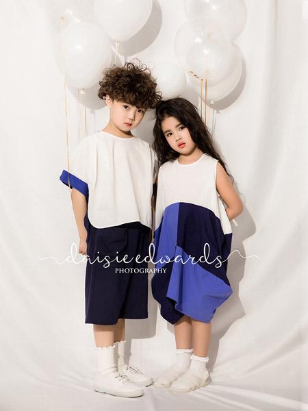 NNE&KIKI童装品牌2020春夏圆领白色T恤