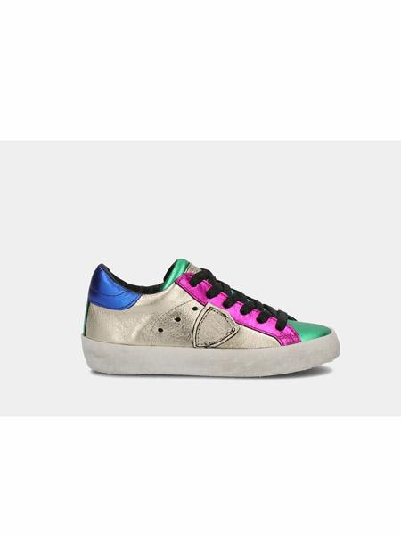 philippemodel童鞋品牌2020春夏彩色休闲平底板鞋