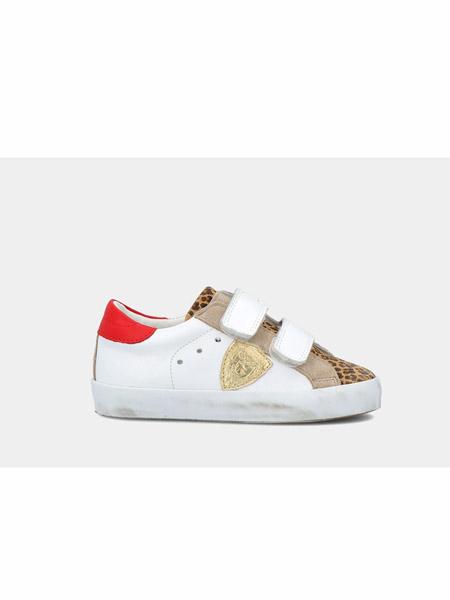 philippemodel童鞋品牌2020春夏魔术贴休闲板鞋