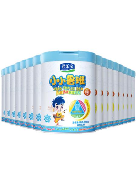 君乐宝婴儿食品君乐宝奶粉 4段小小鲁班儿童成长奶粉3-7周岁四段 800g*16罐