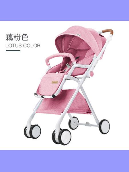 帛琦婴童用品Pouch双向婴儿手推车轻便高景观可坐可躺伞车宝宝推车折叠童车