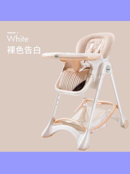 帛琦婴童用品Pouch宝宝餐椅儿童多功能婴儿餐椅可折叠便携式座椅吃饭桌椅K05
