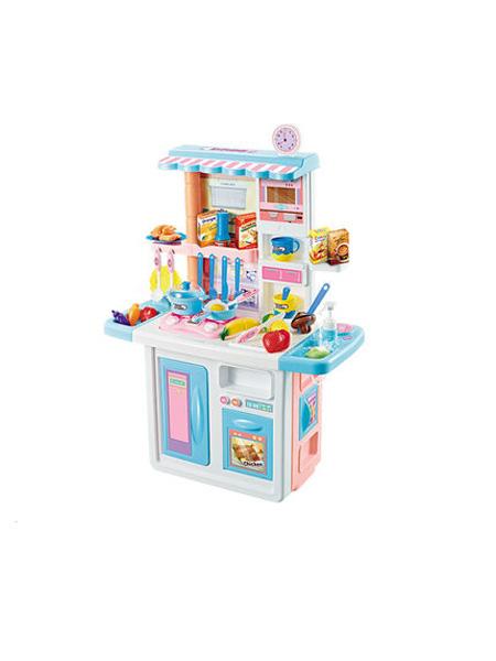 澳贝婴童用品澳贝儿童厨房玩具过家家套装煮饭做饭玩具男女孩宝宝礼物仿真厨具