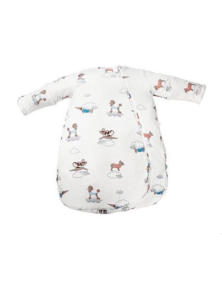澳贝婴童用品澳贝恒温睡袋婴儿夏季薄款幼儿童宝宝圆摆纱布睡衣四季通用防踢被