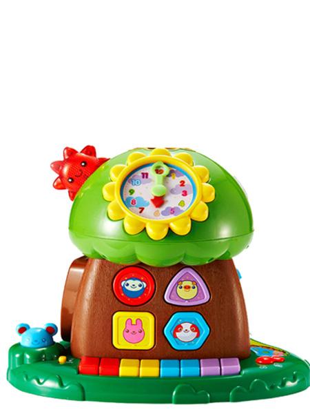 澳贝婴童用品澳贝趣味小树早教益智周岁玩具1岁玩具珠算音乐琴键早教智慧树