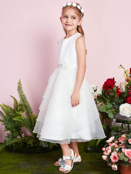 poipoilu(泡泡噜)童装品牌2020春夏网纱连衣裙纯色