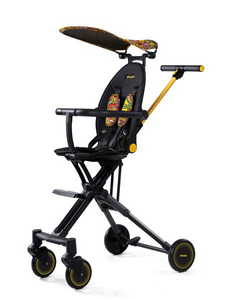普洛可婴童用品playkids普洛可遛娃神器可座可躺高景观婴儿推车轻便可折叠推车