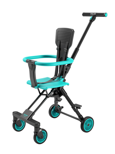 普洛可婴童用品playkids遛娃双向婴儿推车超轻小口袋伞车轻便折叠手推车溜娃神器