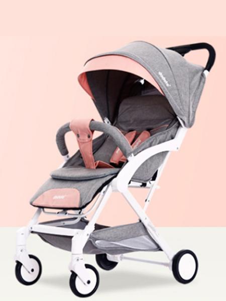 圣得宝婴童用品圣得宝童车 马卡龙粉