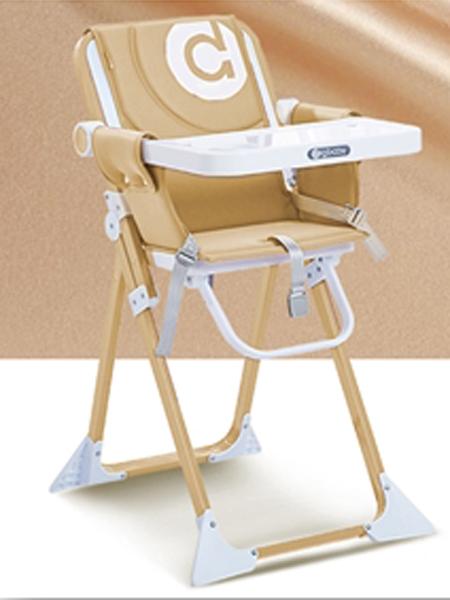 圣得宝婴童用品圣得宝餐椅 卡其色