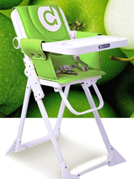 圣得宝婴童用品圣得宝餐椅 果绿色
