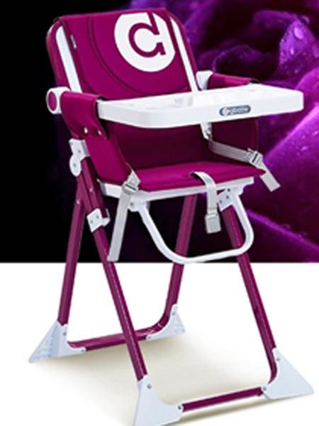 圣得宝婴童用品圣得宝餐椅 高贵紫