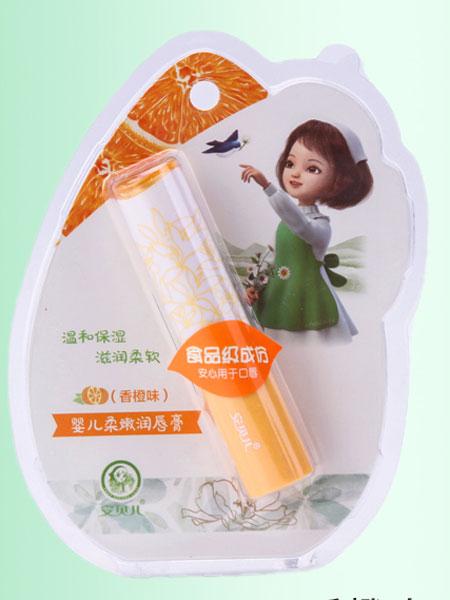 安贝儿婴童用品补水天然小孩女孩专用婴幼儿婴儿童唇膏