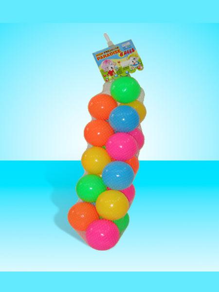 钡铯玩具婴童玩具网袋50粒庄9CM乐园球