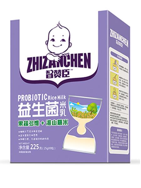 智赞臣婴儿食品智赞臣果蔬多维+淮山薏米益生菌米乳