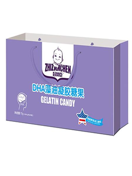 智赞臣婴儿食品智赞臣DHA藻油凝胶糖果 礼盒装
