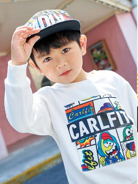 卡儿菲特龙8品牌2020秋冬纯棉T恤长袖