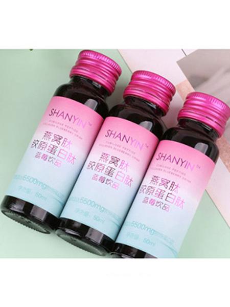 善茵婴儿食品燕窝肽胶原蛋白肽蓝莓饮品