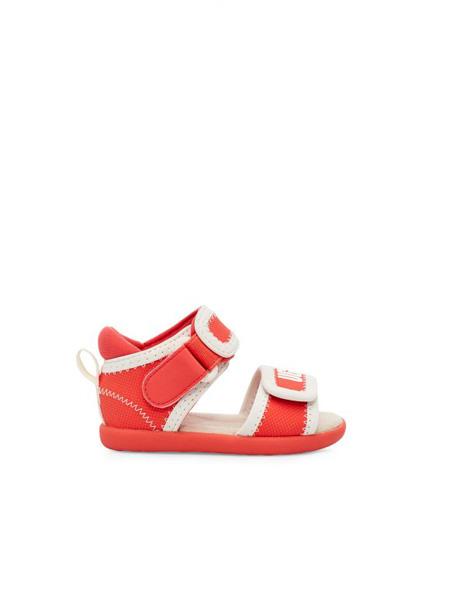 UGG童鞋品牌2020春夏橘红色凉鞋