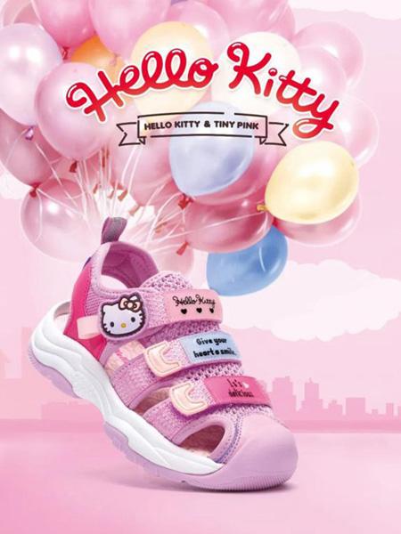 凯蒂猫童鞋品牌2020秋冬粉色舒适网鞋