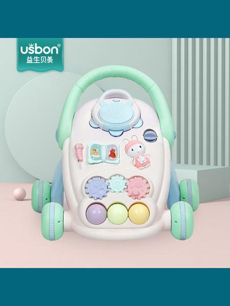 益生贝美婴童用品益生贝美宝宝学步车手推车儿童玩具车婴儿助步车学走路6-18个月