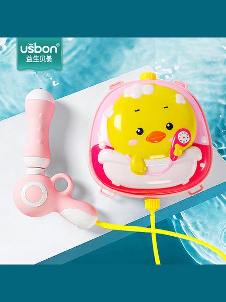 益生贝美婴童用品儿童电动吹泡泡机相机少女心全自动泡泡枪器抖音网红玩具补充液水
