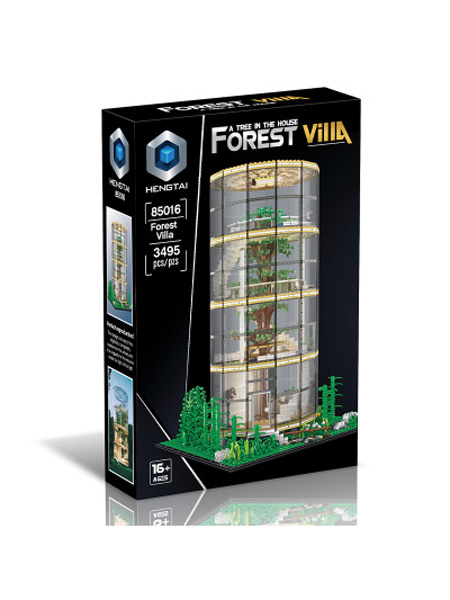 恒泰婴童玩具新品HT恒泰玻璃房玻璃树屋兼容品牌儿童拼装拼插益智玩具