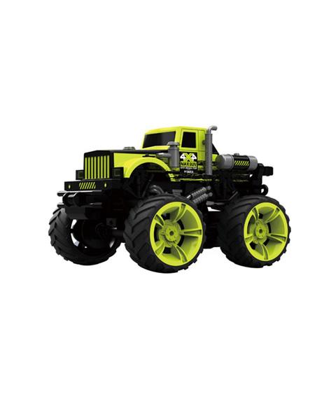 亿尔达婴童玩具绿色黑色赛车