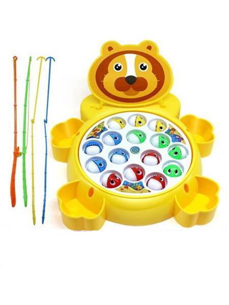 烨星玩具婴童玩具批发儿童钓鱼盘电动玩具大号音乐旋转益智男女孩亲子互动玩具1岁3