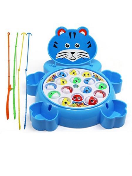 婴童玩具批发儿童钓鱼盘电动玩具大号音乐旋转益智男女孩亲子互动玩具1岁3