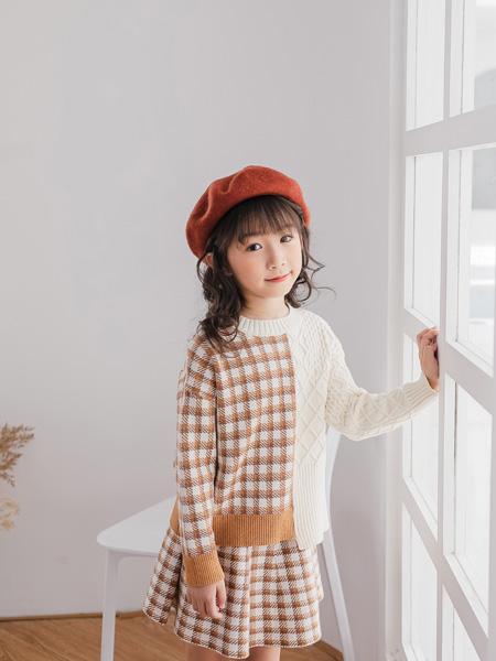 思贝秀童装品牌2020秋冬新品休闲可爱连衣裙