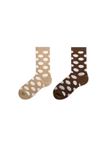 百伶百俐童装品牌2020春夏2双装少女袜子女秋冬季中筒袜日系可爱棉袜长筒袜ins潮女士堆堆袜