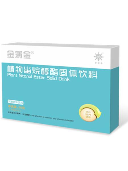 金薄金婴儿食品植物甾烷醇酯固体饮料