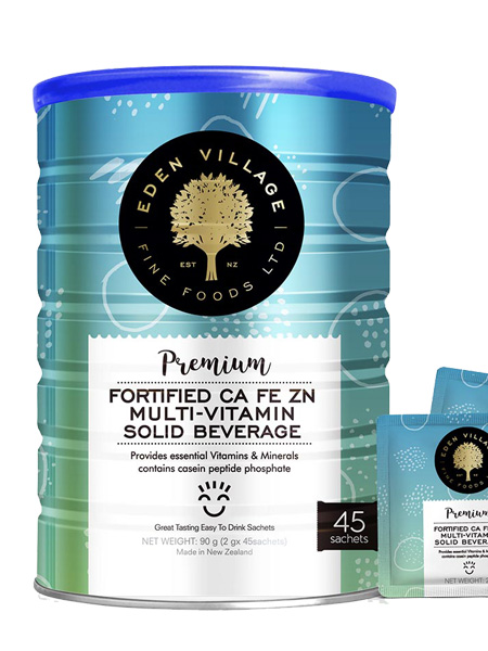 可瑞福婴儿食品可瑞福钙铁锌多维营养包