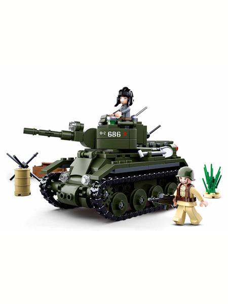 快乐小鲁班婴童玩具世界大战II逆境重生