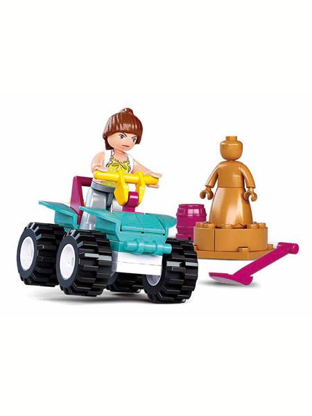 快乐小鲁班婴童玩具ATV沙滩