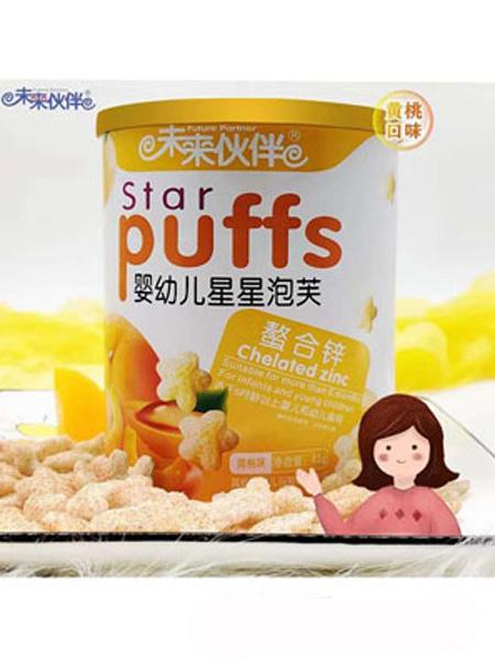 未来伙伴婴儿食品未来伙伴星星泡芙-螯合锌