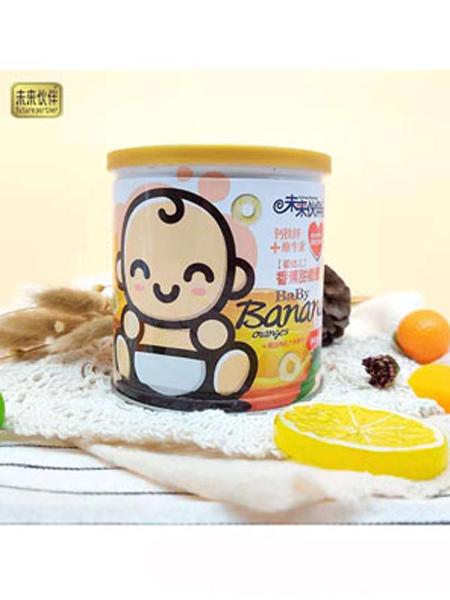 未来伙伴婴儿食品未来伙伴钙铁锌+维生素香蕉甜橙圈