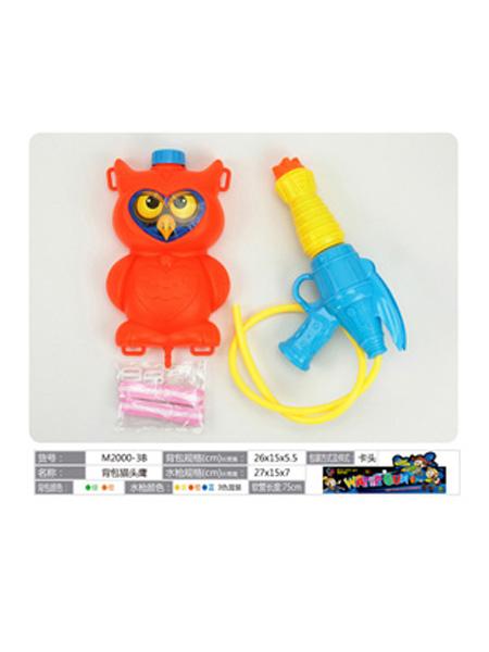 美正达玩具婴童玩具红色猫头鹰水枪