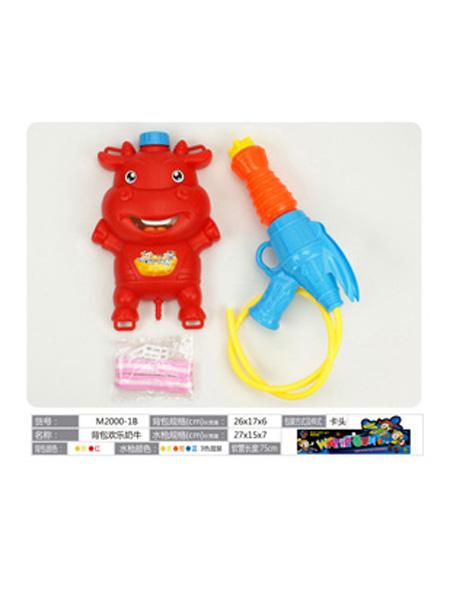 美正达玩具婴童玩具红色河马水枪