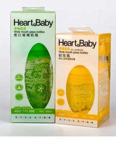 亨特贝贝婴童用品亨特贝贝宽口玻璃防摔初生瓶包装图