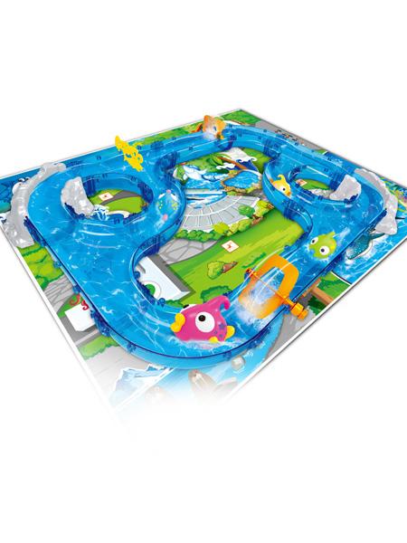 烨星婴童玩具钓鱼玩具水上乐园儿童轨道室内垂钓游戏隧道山景868-5套装批发