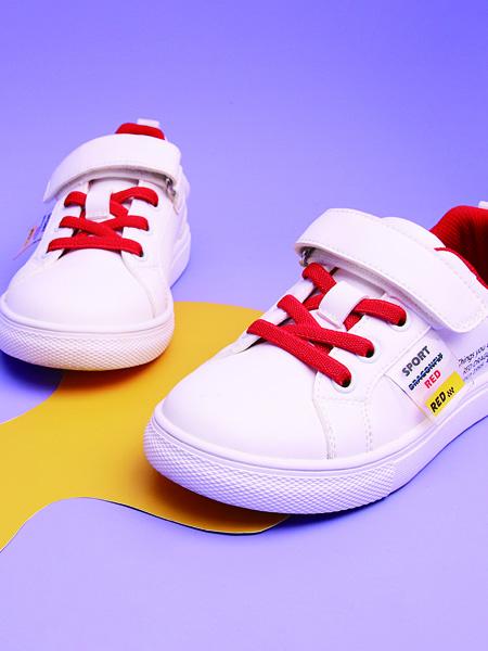 红蜻蜓童鞋品牌2020秋冬白色板鞋