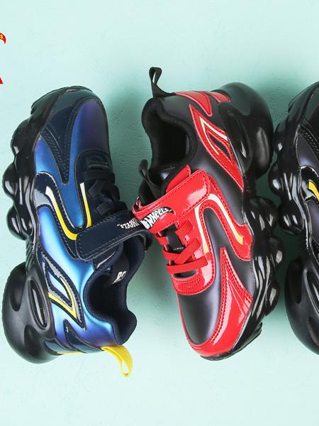 TATA童鞋品牌2020秋冬蓝色/红色/黑色