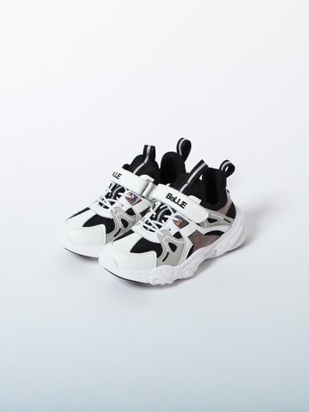 百丽国际童鞋品牌2020春夏黑白运动鞋